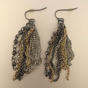*3/25* Multi Strand Dangle Earring